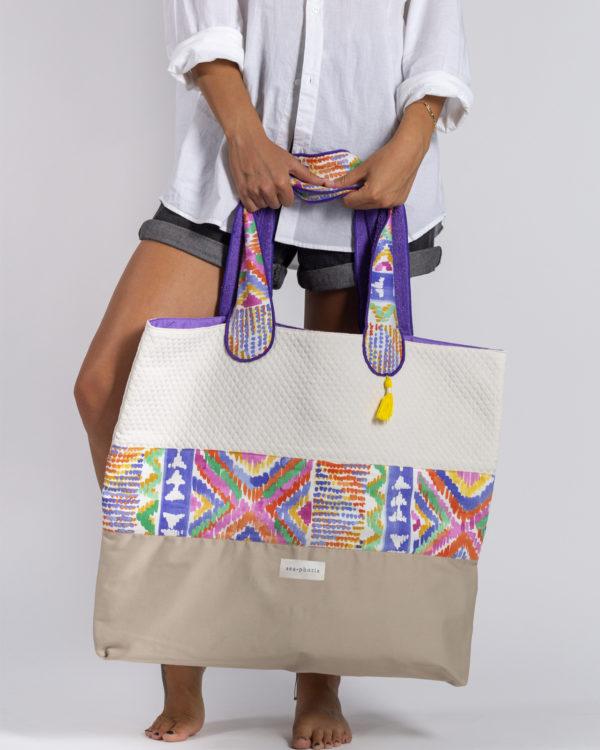 Indian Summer - Beachbag by Seaphoria